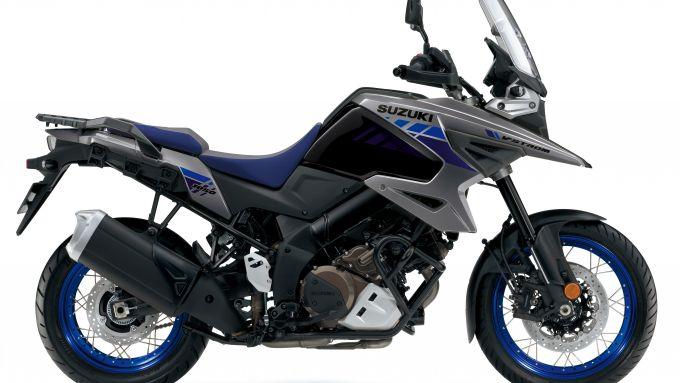 Suzuki V-Strom 1050 la livrea blu/grigio