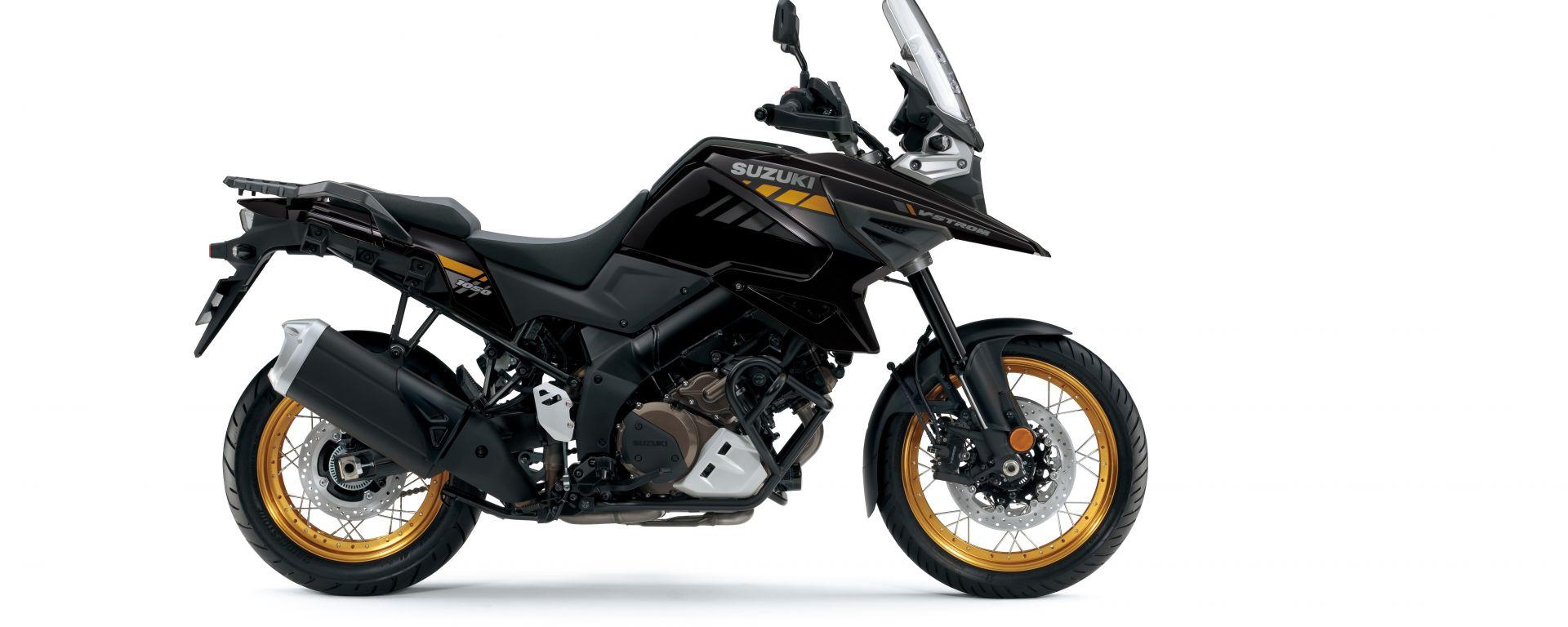 Suzuki V-Strom 1050: la nuova livrea nera