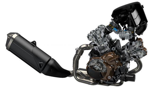 il nuovo motore è Euro5
