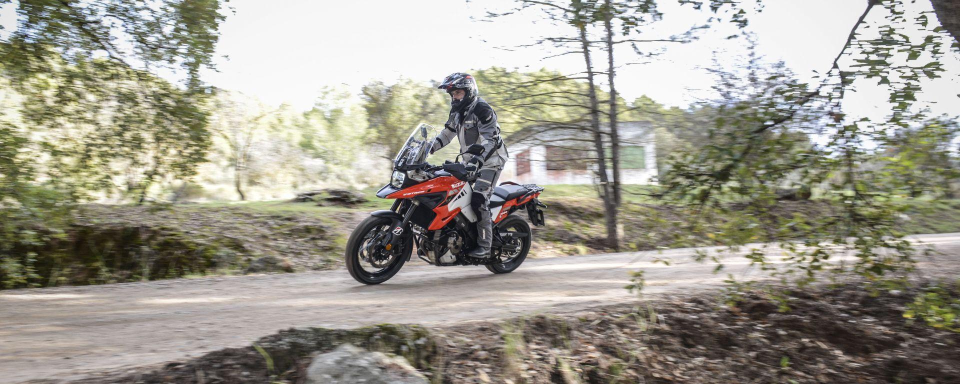 Suzuki V-Strom 1050: la tecnologia non le fa più paura. La prova