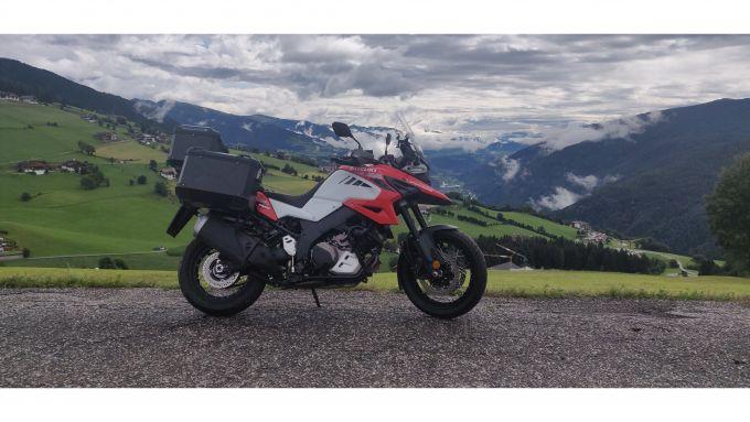 Suzuki V-Strom 1050 XT 2020: uno scatto in Trentino
