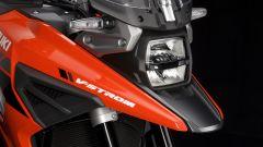 Suzuki V-Strom 1050 XT: dettaglio anteriore