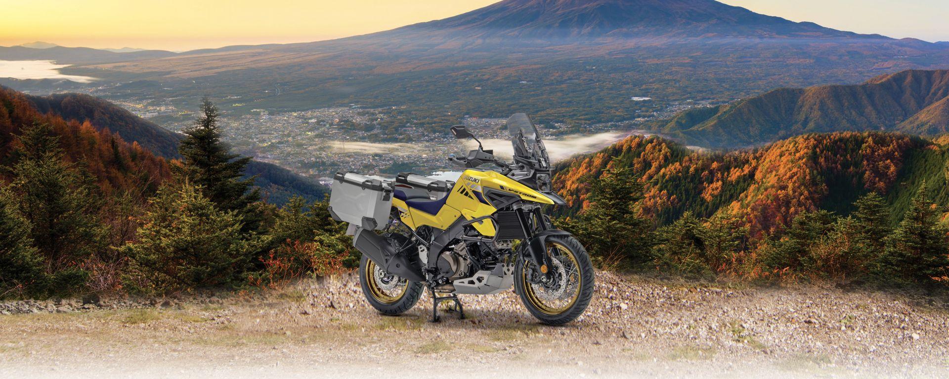 Suzuki V-Strom 1050 XT Pro, l'allestimento dedicato all'avventura