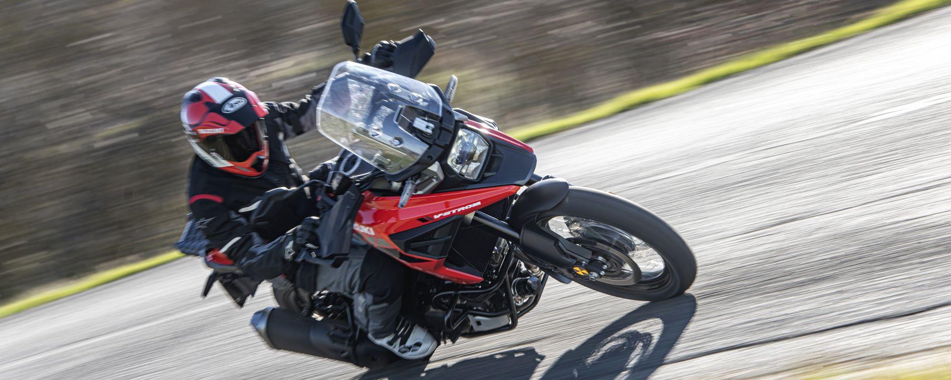 Suzuki V-Strom 1050XT, provala al Suzuki V-Strom Tour 2020