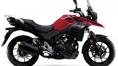 Suzuki V-Strom 250 Metallic Diamond Red