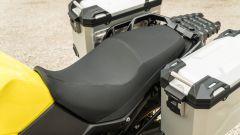 Suzuki V-Strom 650 2021: la sella è comoda e ben imbottita