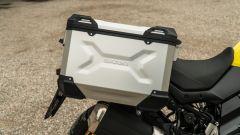 Suzuki V-Strom 650 2021: le borse in alluminio da 37 litri