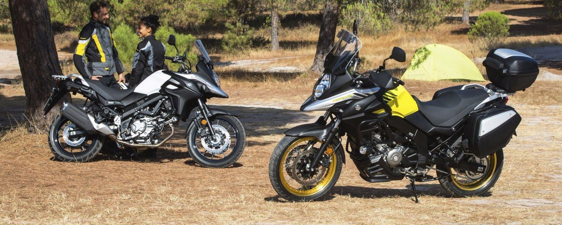 Suzuki V-Strom 650 e V-Strom XT