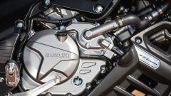 Suzuki V-Strom 650 XT 2017, motore bicilindrico a V di 90°