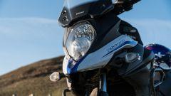 Suzuki V-Strom 650 XT 2019: il gruppo ottico anteriore