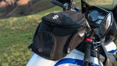 Suzuki V-Strom 650 XT 2019: la borsa da serbatoio del kit Touring