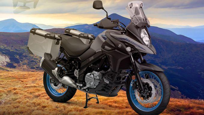 Suzuki V-Strom 650 XT 2021 completa di kit Freedom
