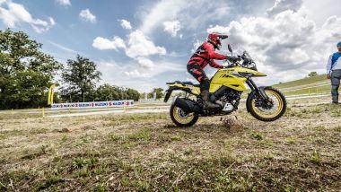Suzuki V-Strom Academy: i tronchi in sella alla V-Strom 1050