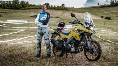 Suzuki V-Strom Academy: il direttore dei corsi Andrea Beconi