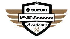 Suzuki V-Strom Academy, il logo della scuola