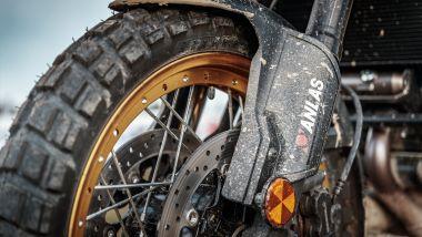 Suzuki V-Strom Academy: le gomme Anlas Capra X