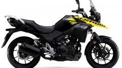 Suzuki V-Strom Pearl Nebular Black / Solid Dazzling Cool Yellow