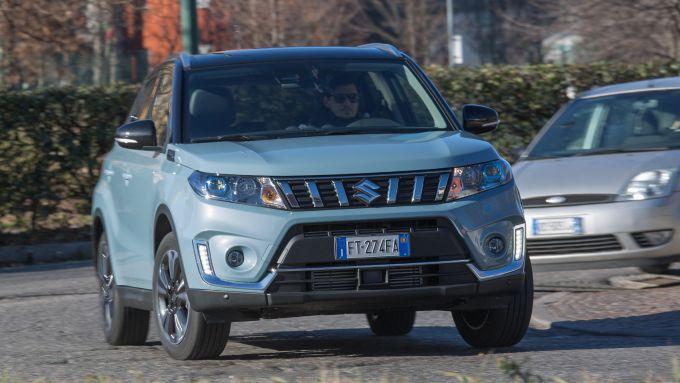Suzuki Vitara 2019 1.0 benzina: la prova su strada