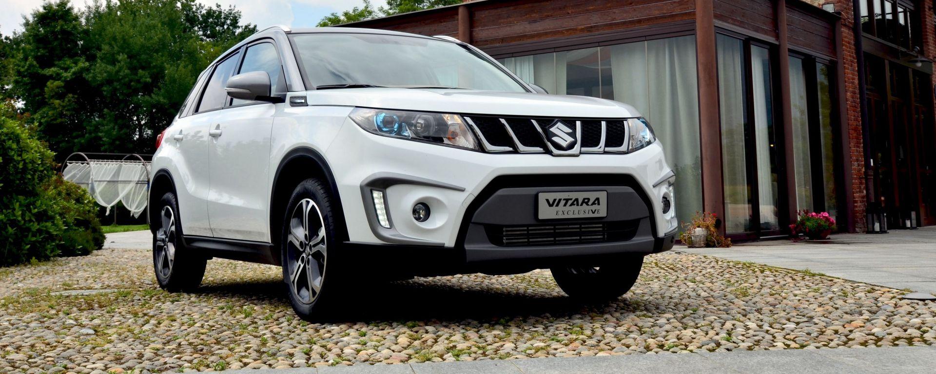 Suzuki Vitara Exclusive: ecco la nuova top di gamma della suv giapponese