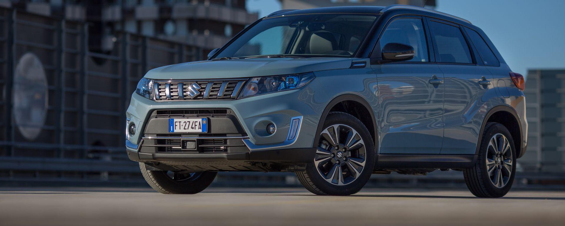 Suzuki Vitara, in futuro sarà ibrida: anche plug in?