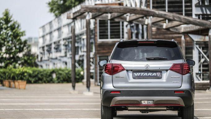Suzuki Vitara Katana: visuale posteriore