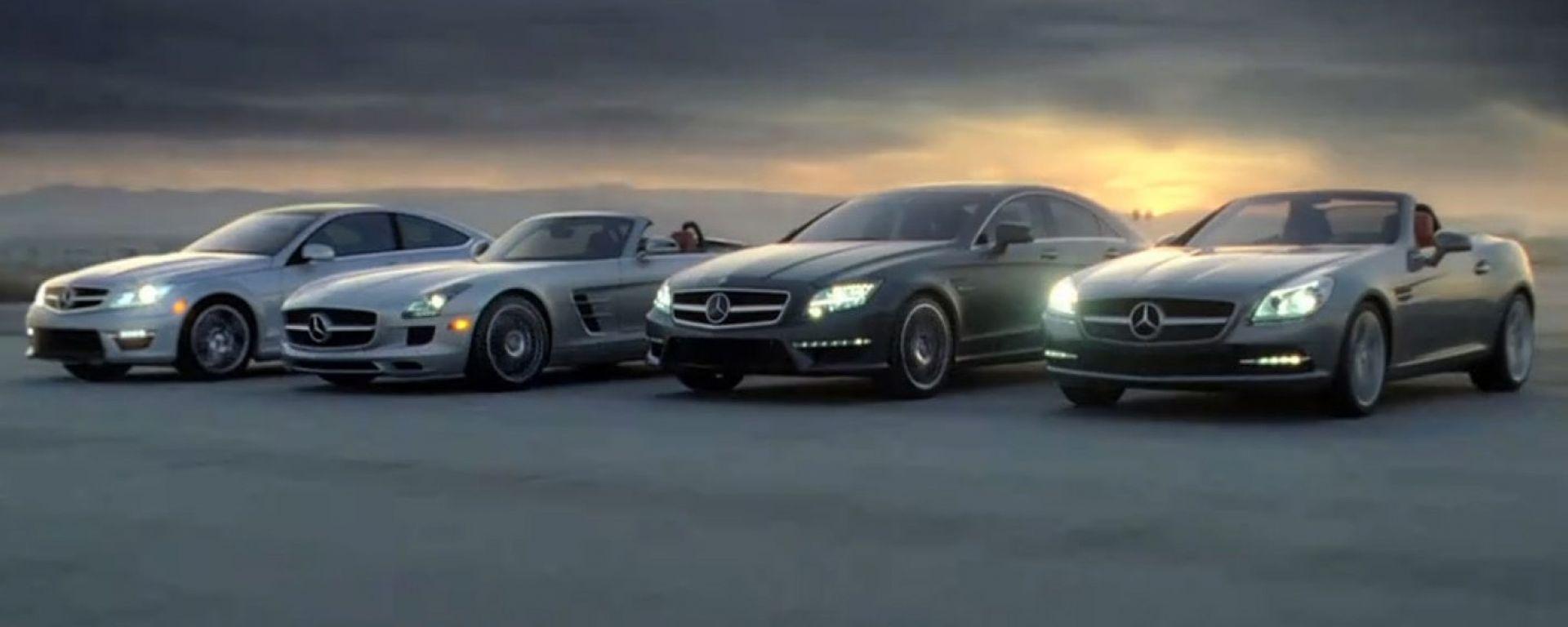 Svelate le Mercedes SLS AMG Roadster e Classe C Coupé