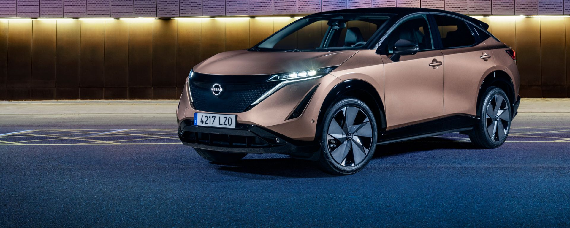 Svelati i colori di nuova Nissan Ariya