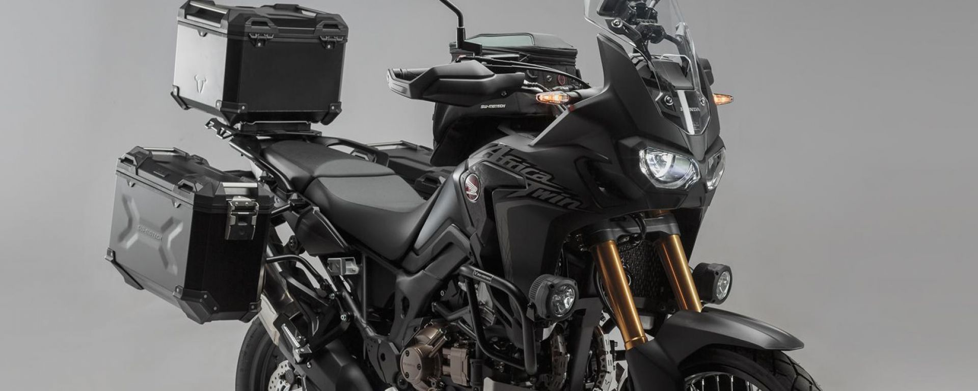 SW-Motech: kit accessori per Honda Africa Twin