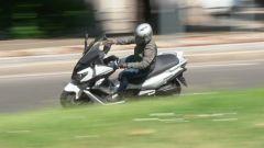 Sym CruiSym 300: la posizione di guida