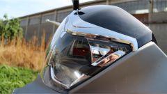 SYM HD 300, il faro anteriore