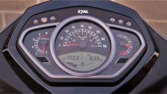SYM HD 300, il quadro strumenti