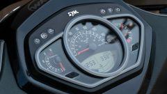 Sym HD 300: il quadro strumenti