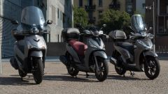 Sym HD 300, Kymco People S 300, Honda SH 300i