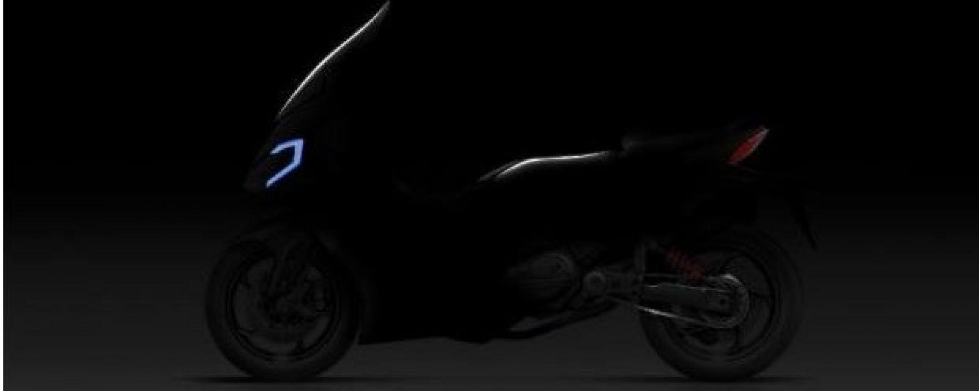 SYM maxi-scooter crossover Eicma 2017