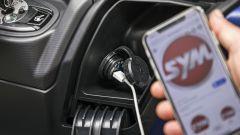 Sym Maxsym TL: la presa USB fast charge
