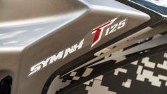 Sym NH T 125 logo e scritta modello