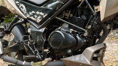 Sym NH T 125 vista motore 125 cc 10 CV