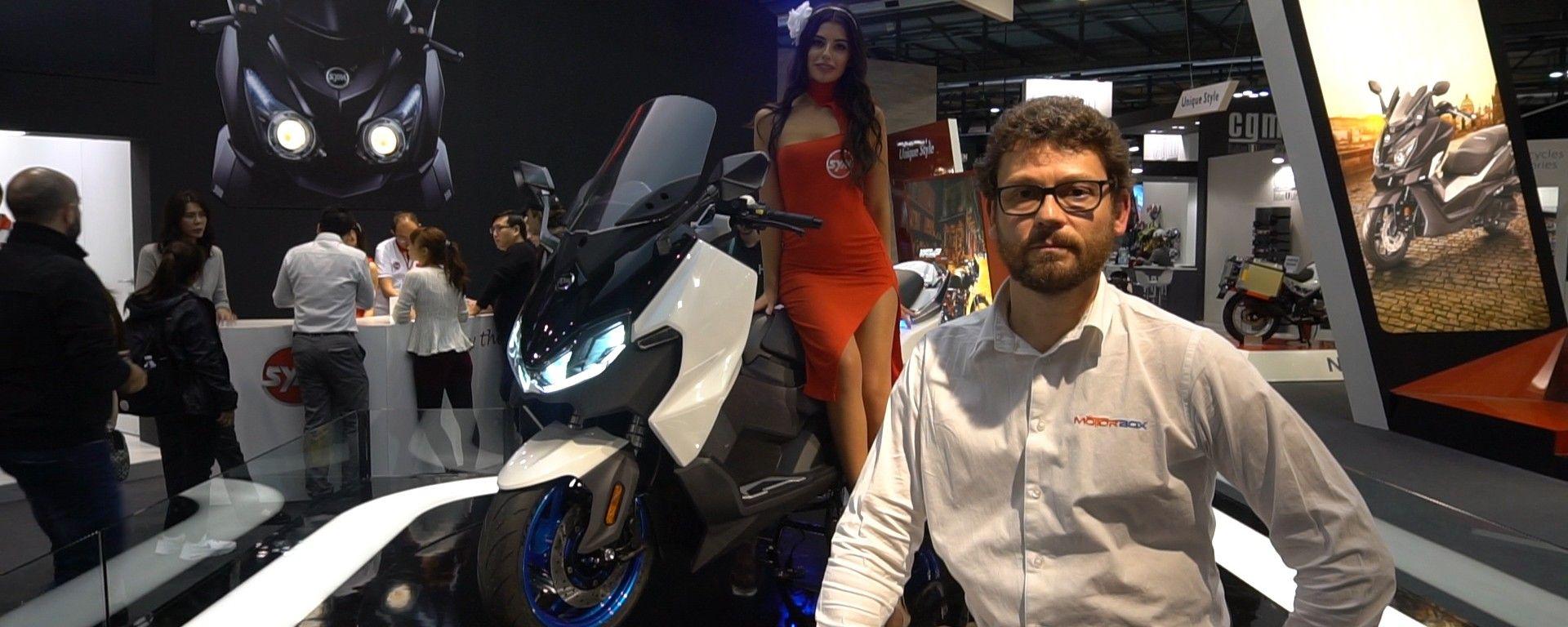 SYM Maxsym TL1: il nuovo scooterone che sfida il T-max [VIDEO]