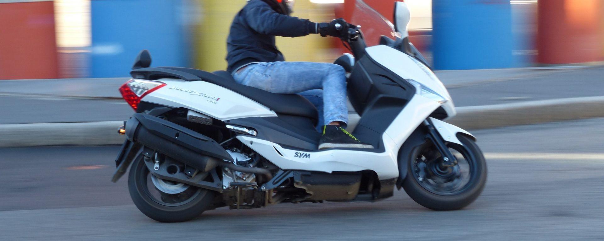 SYM: un finanziamento per due scooter