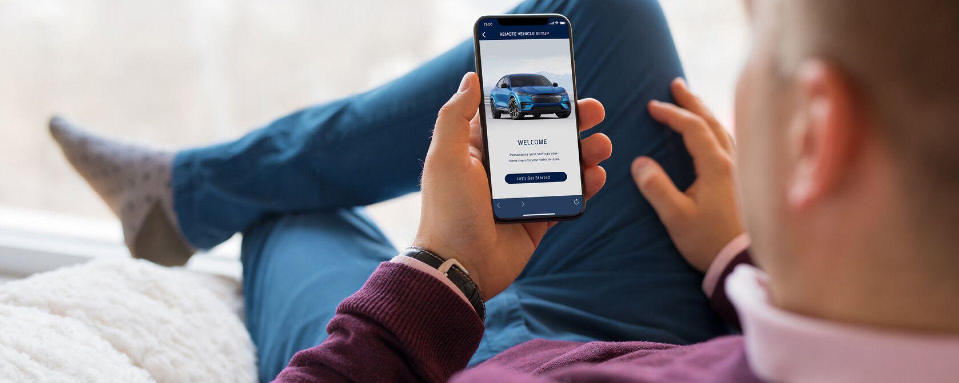 Sync 4: personalizzare l'auto dallo smartphone