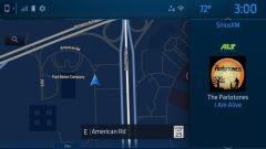 Sync 4, una schermata del nuovo infotainment Ford