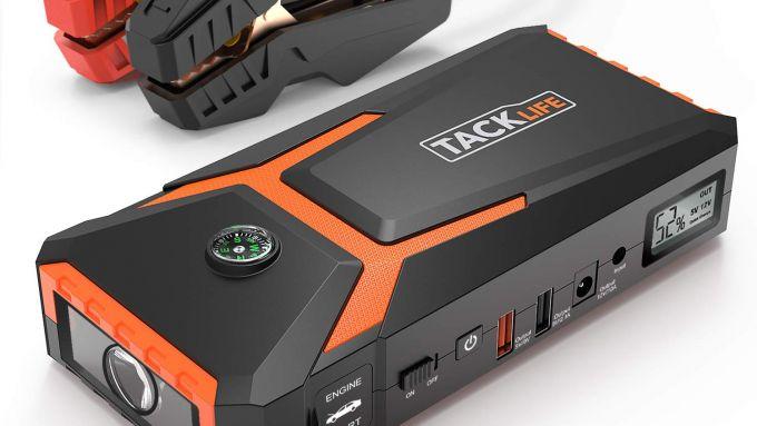 Tacklife T8 avviatore batteria auto