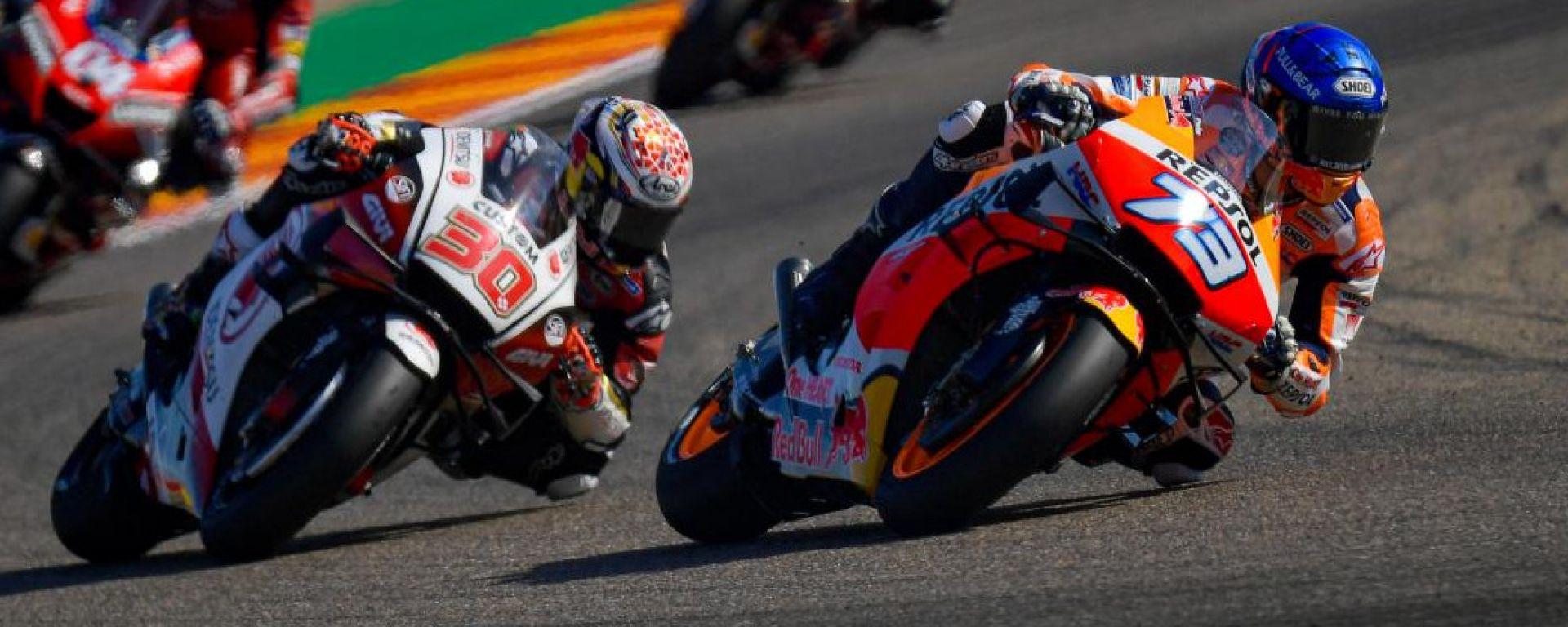 Taka Nakagami e Alex Marquez (Honda)