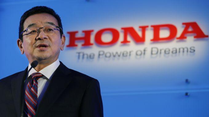 Takahiro Hachigo, presidente di Honda