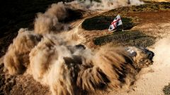 Tanak e la sua Ford Fiesta  - WRC 2017, Rally Italia Sardegna