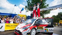 Tanak - podio Rally di Germania 2019