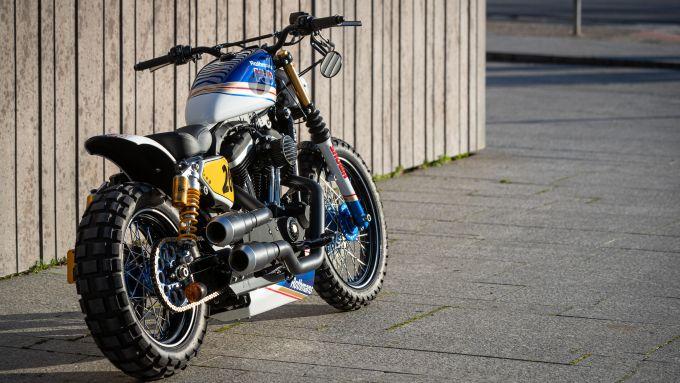 Tante le special Harley-Davidson su base Softail presenti al Triple S