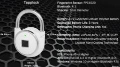 Tapplock: il primo lucchetto a impronte digitali - Immagine: 3