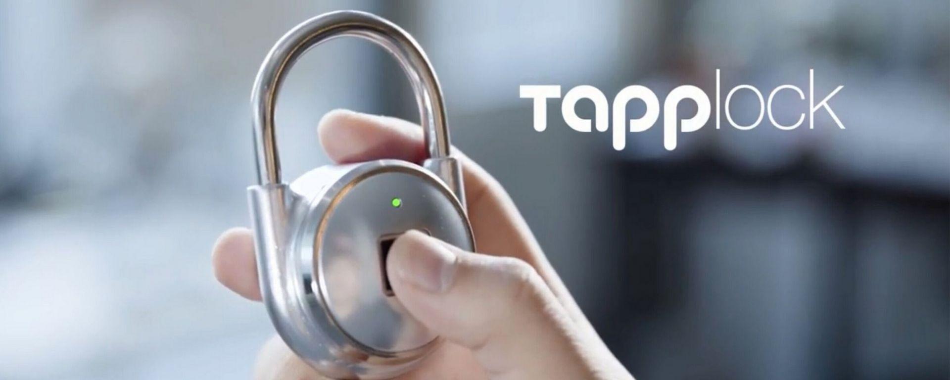 Tapplock: il primo lucchetto a impronte digitali