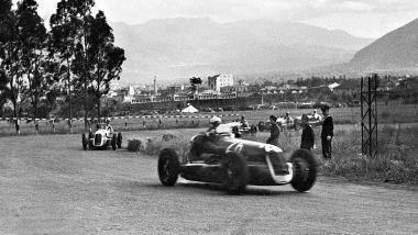 Targa Florio 1940: Gigi Villoresi su Maserati 4CL